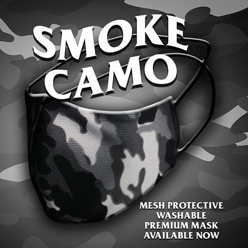 Smoke Camo Mesh Reusable Protective Mask