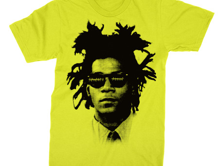 NEW BASQUIAT X 7TH FLOOR TEE PAYS TRIBUTE TO THE LATE ARTIST.