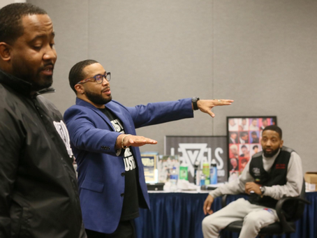 7TH FLOOR SPEAK TO THE YOUTH AT AKRON UNIVERSITY'S BLACK MALE SUMMIT
