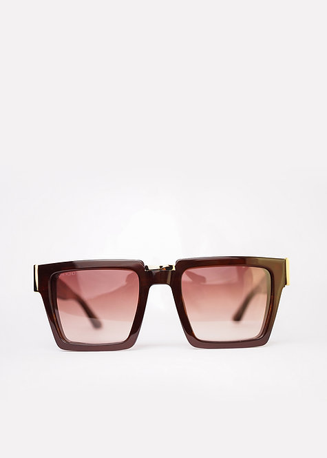 SVTH FORD Gold Cognac Luxury Eyewear