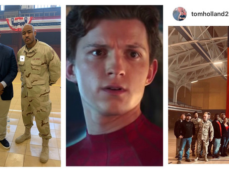 7TH FLOOR CO-FOUNDER FRANK MILLER III TO APPEAR IN A FILM W/ SPIDER-MAN STAR TOM HOLLAND