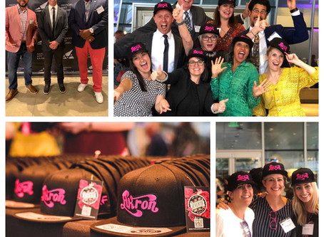 "Custom ""Akron"" hat a HUGE hit at the Knight Foundation's 2019 Knight Arts Challenge"
