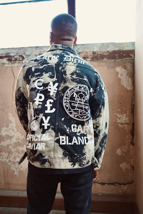 Carpe Diem Premium Distressed Demim Jacket