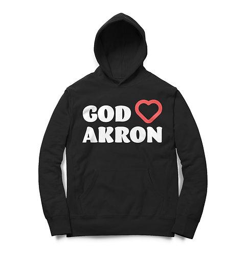 God Loves Akron Hoodie