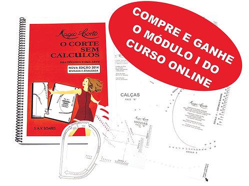 COMPRE E GANHE - Compre o 1o. Vol. com Gabaritos e ganhe Curso Online - Módulo I