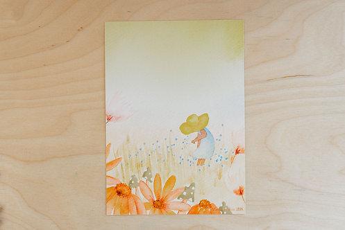 Summer Meadow Card