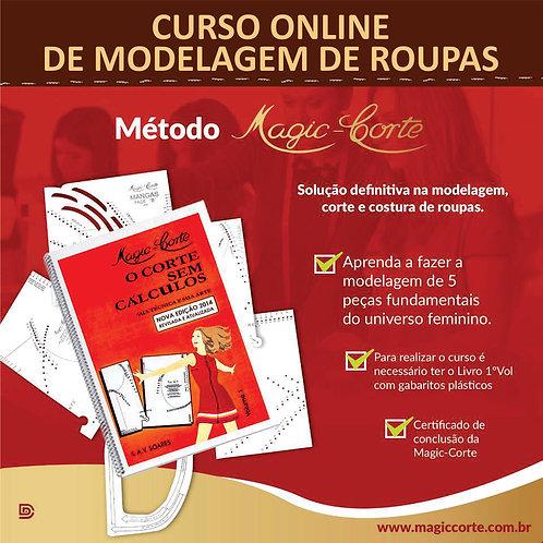 Curso Online - Módulo I (Incluso Livro 1º Volume Magic-Corte com Gabaritos)