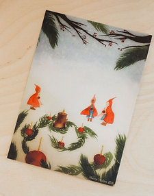 Advent Spiral Table Card