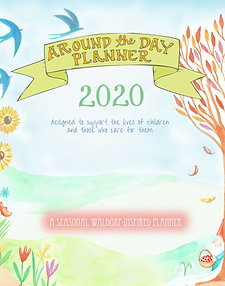 2020 Around the Day Calendar Year Planner