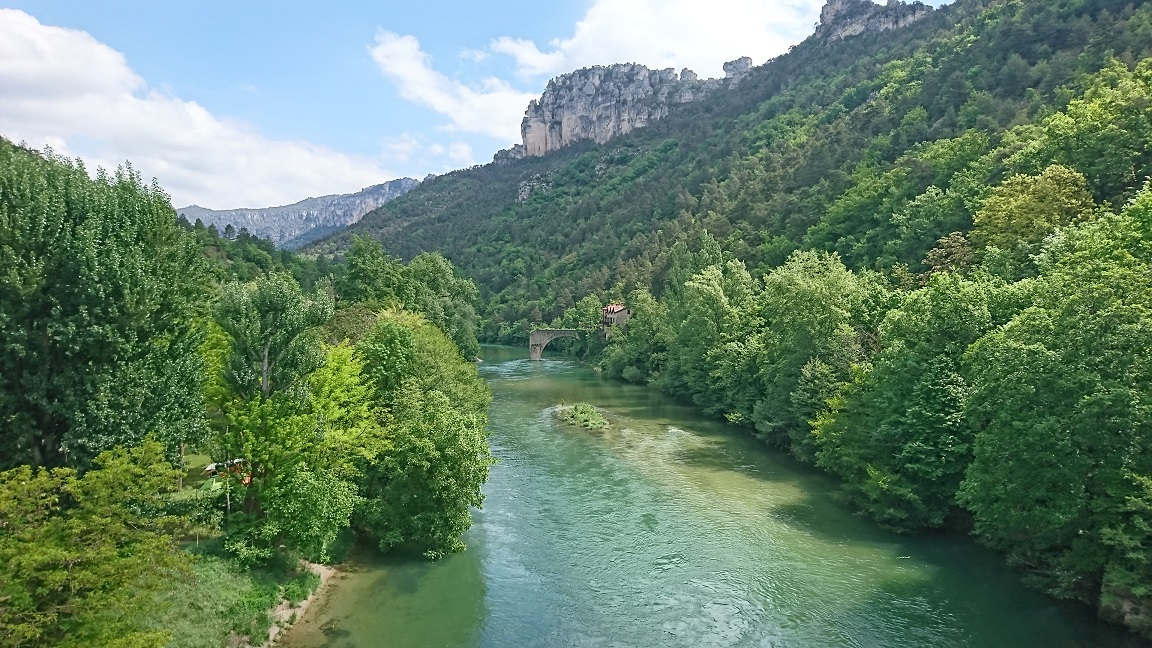 Rivière le Tarn
