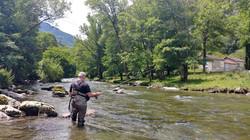 Confirmation Nymphe au Fouet en moyenne rivière