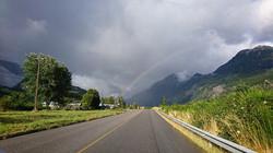 Arc en ciel de Patagonie