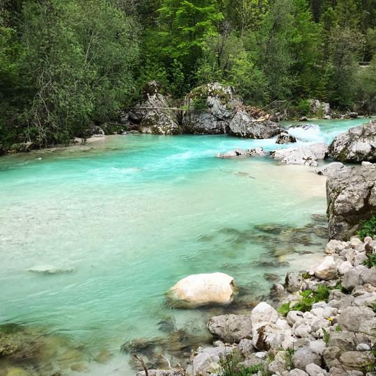 La rivière Soca