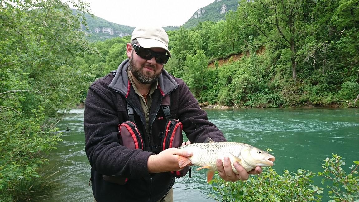 Romain moniteur de pêche