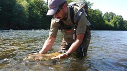 Récompense de la nymphe au Toc en grande rivière
