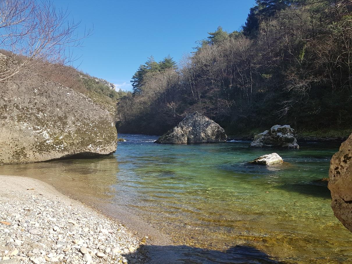 Rivière la Dourbie