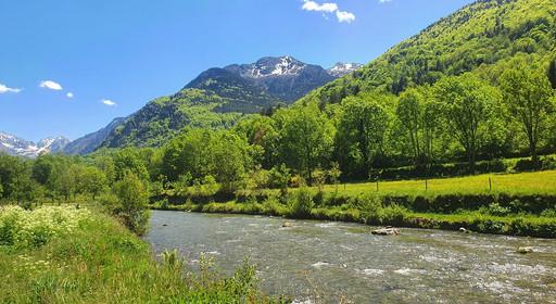 Rivière à 800m d'altitude