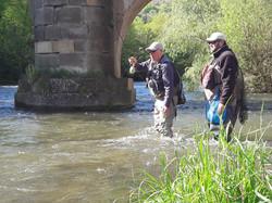 Guidage Pêche Nymphe au Fouet