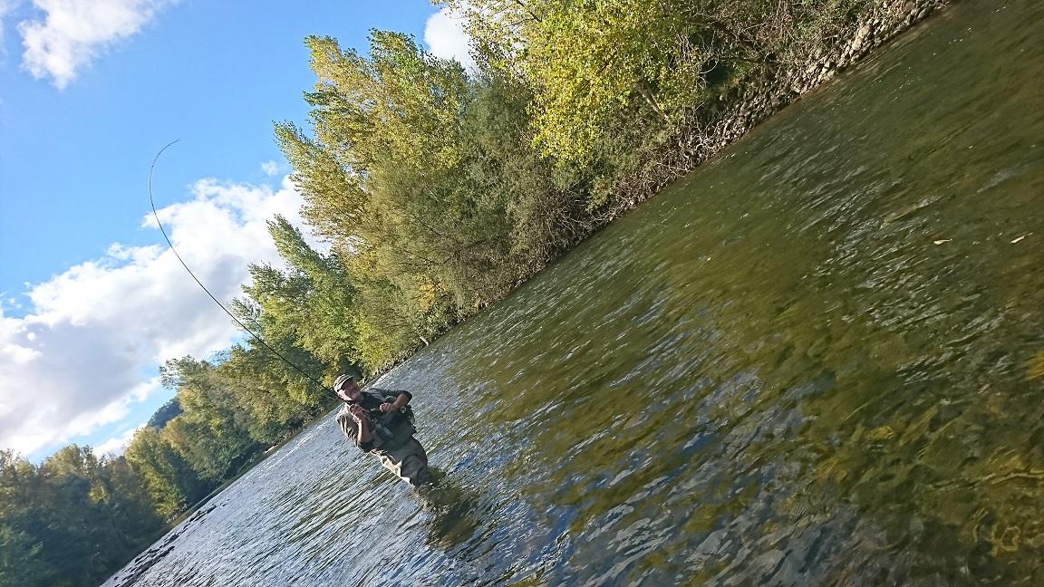 En grande rivière...
