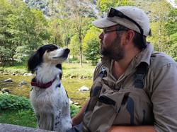 """Ma chienne de Pêche """"Fario"""""""