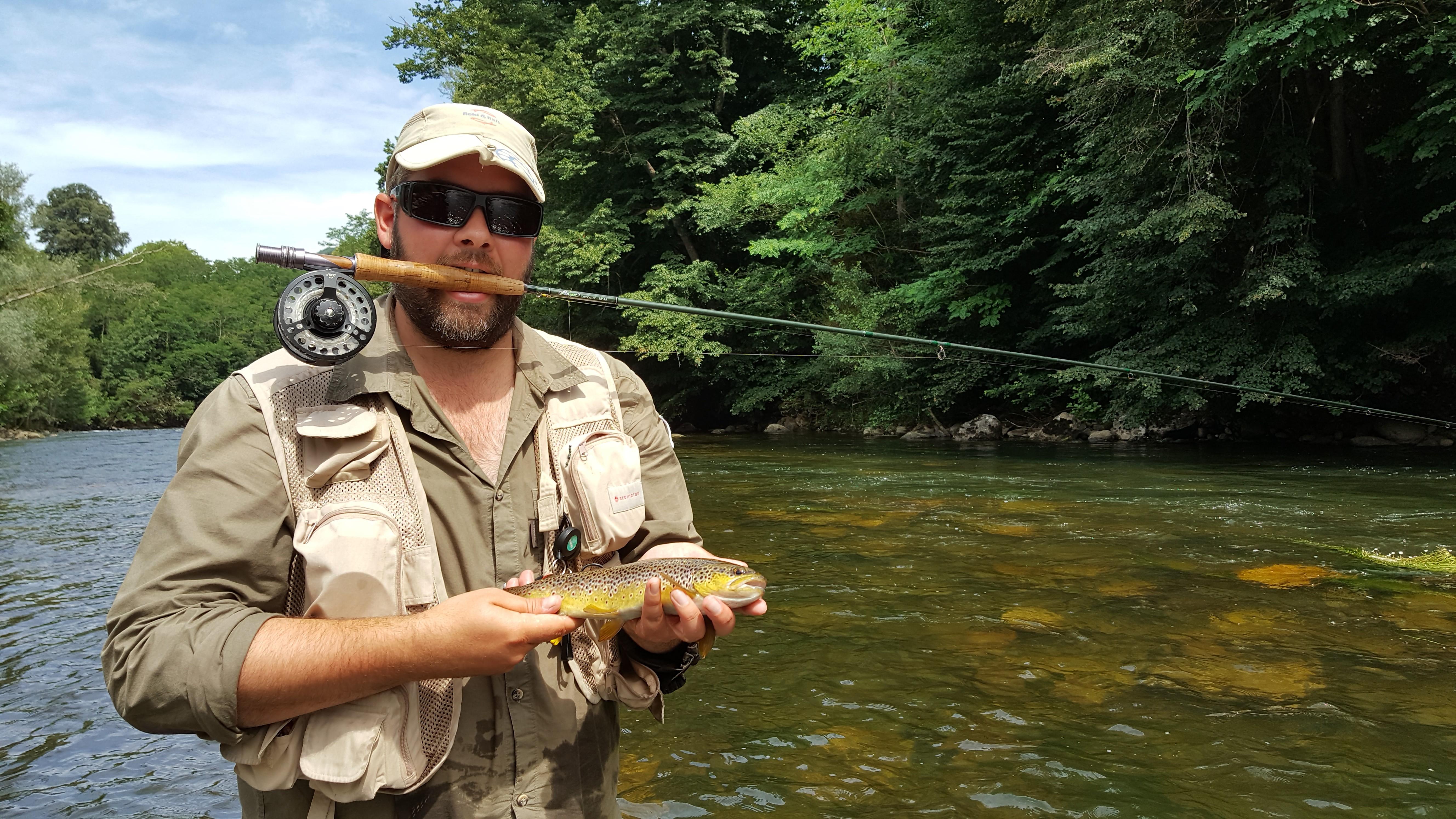 Stage de pêche Truites