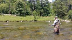 Confirmation pêche Nymphe au Fouet