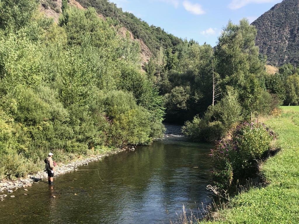 Pêche mouche en Espagne