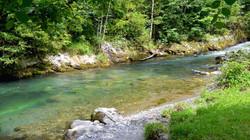 Rivière Pyrénées aux eaux limpides