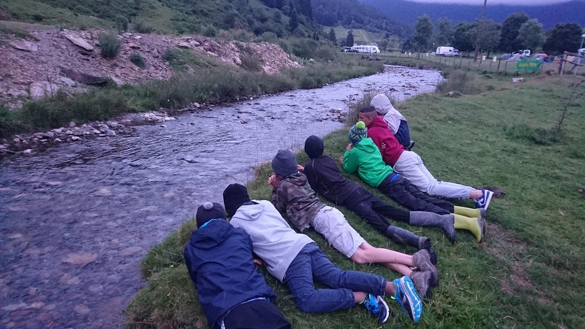 Observation de la rivière