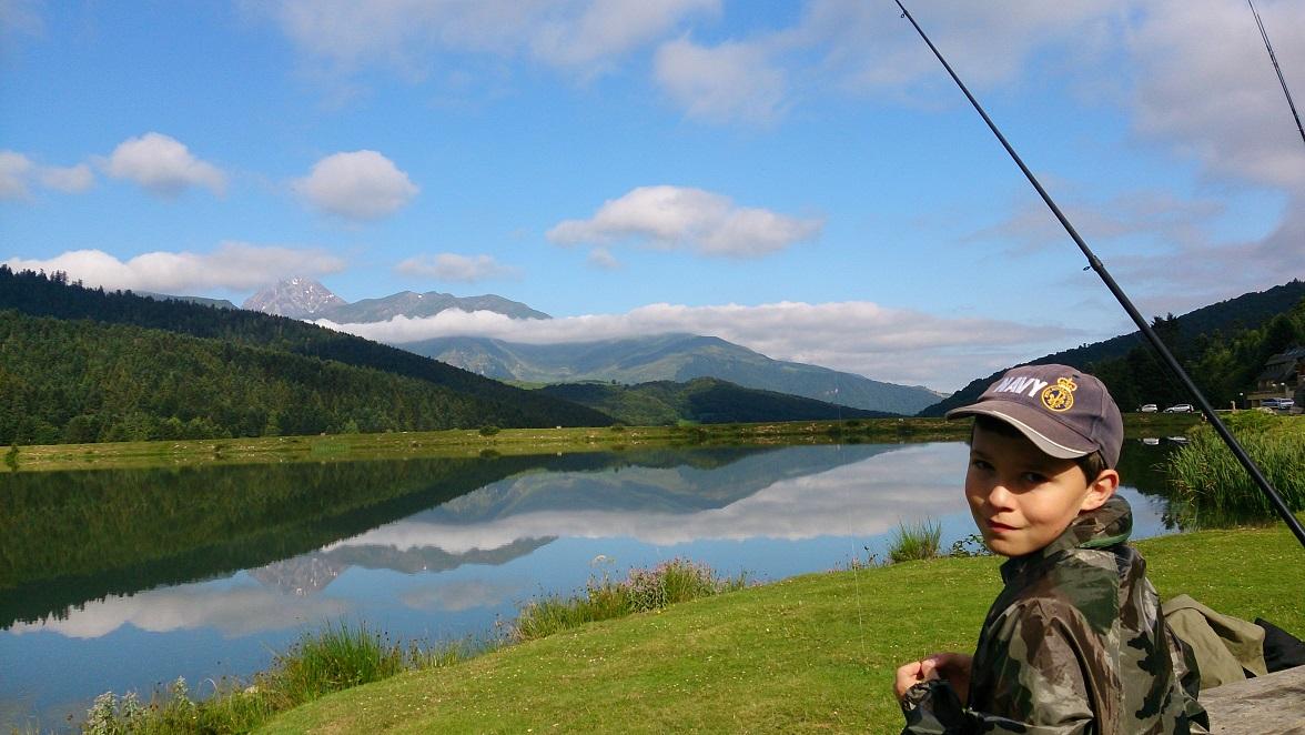 Pêche en lac le mercredi