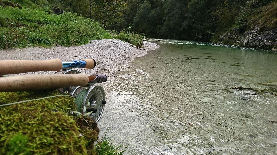 Pêche à la mouche en Slovénie