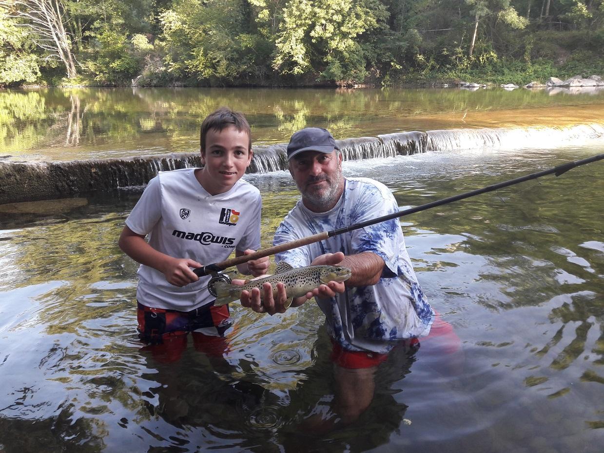 Pêche au Toc dans le Tarn