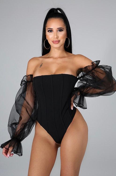 Belle Body Suit BLACK