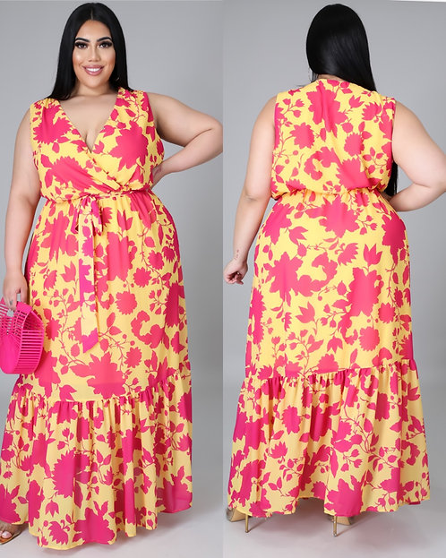 Be Your Own Sunshine Maxi Dress