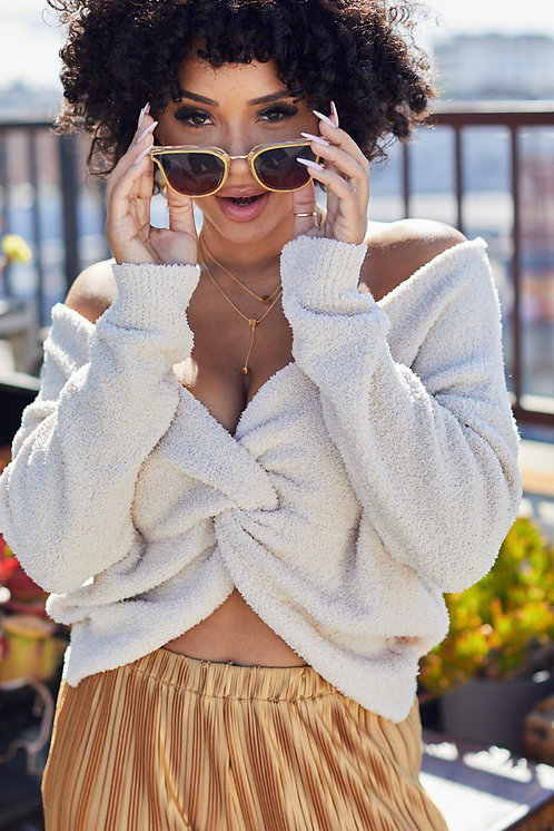 Snuggle Twist Sweater
