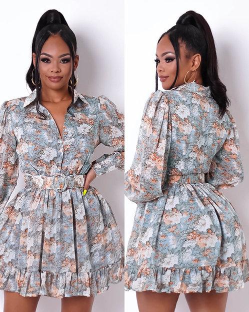 Blooming Season Mini Dress