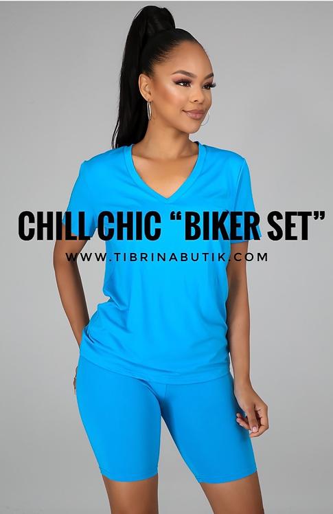 "Chill Chic ""Biker Set"" BLUE"