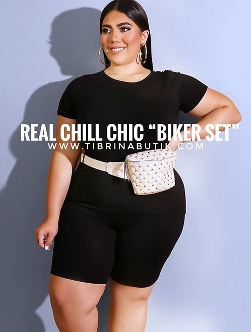 """Real Chill Chic """"Plus BLACK"""""""