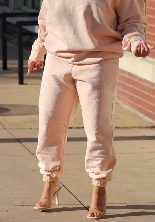 Chic In The City Jogger Pants PINK