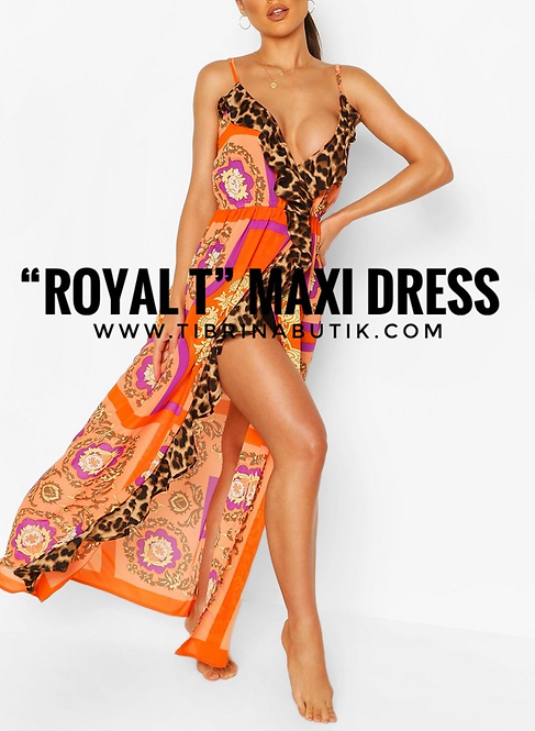 """Royal T""  Maxi Dress"