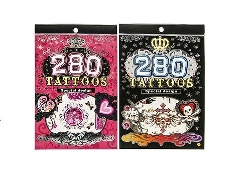 tattoos 280 boekje 12.5 x 19cm