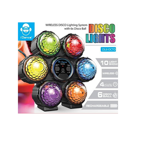 Idance disco lights wireless