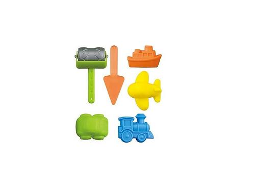 set van 6 stuks strandspeelgoed