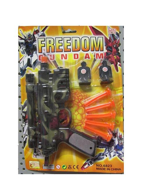 militair pistool met pijltjes