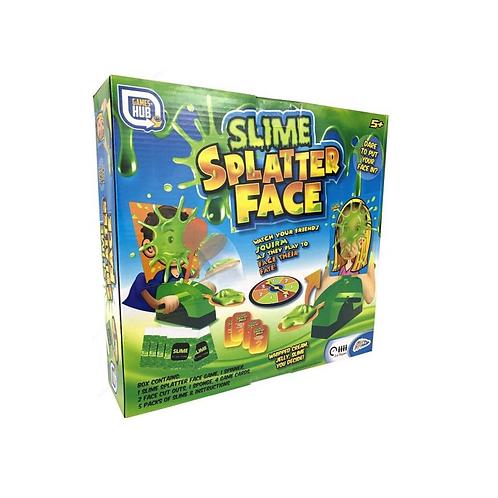 slime splatter face spel