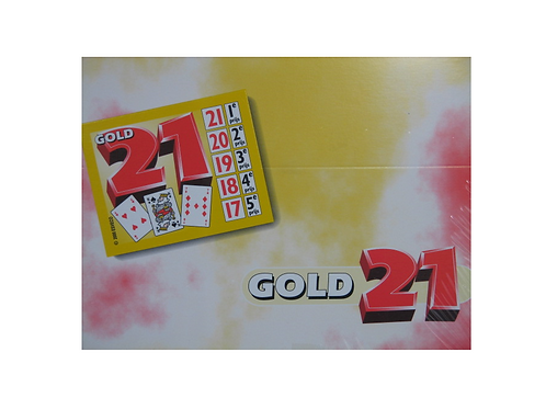 gold 21 spel (set van 1100 lotjes)