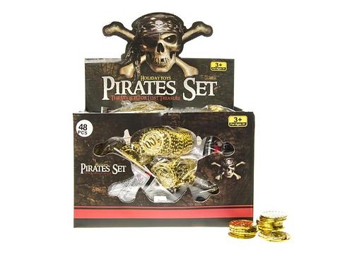 piraat goudstukken 20 in zakje