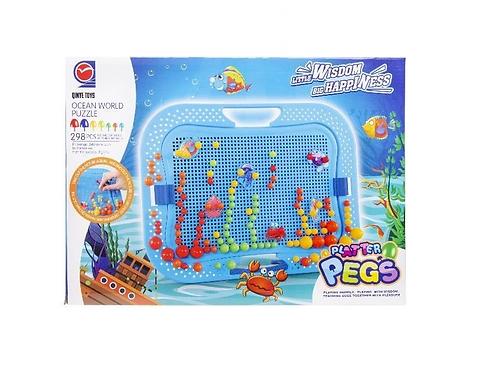 mozaïk prikkertjes oceaan in doos 38x27.5x4.5