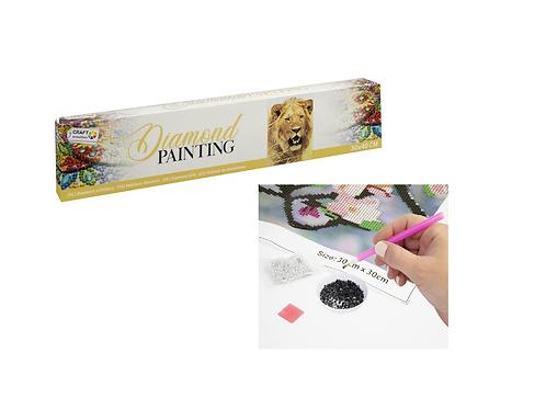 diamond painting 30x40cm lion