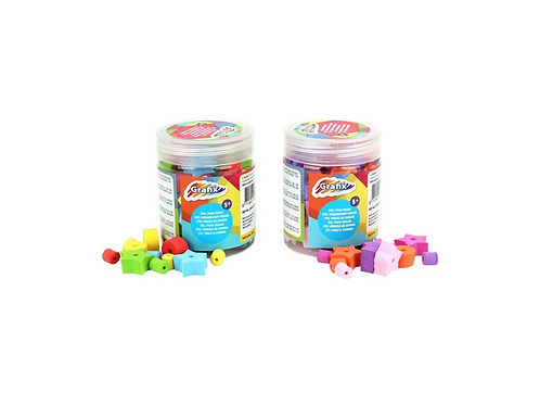 bucket foam beads 2 ass